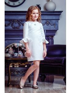 """Платье нарядное жаккардовое для девочек """"Звездочка"""""""